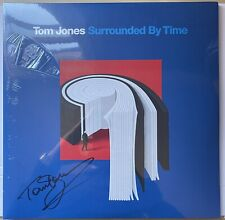 Tom Jones Hand Signed Surrounded By Time Vinyl Record Rare