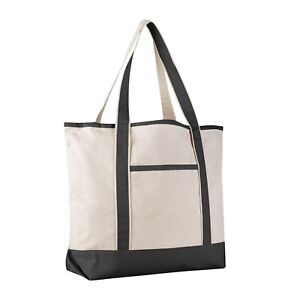 Extra Large Sturdy Canvas Tote Bag, Canvas Bags for Crafts, HTV, Beach, Work