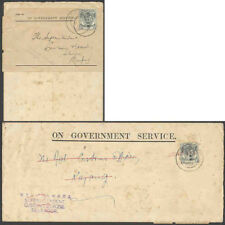 Malaya/Japan Occ. two 1942-3 Official covers