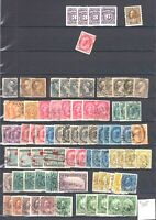 CANADA LARGE COLLECTION LOT $755 STATED VALUES UP TO $125 EACH CANCELS MINT
