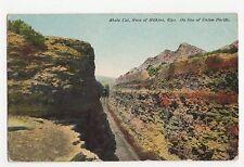 USA, Shale Cut West of Wilkins Wyo. Union Pacific Line Postcard, A823