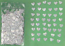 Hand punched dictionary hearts confetti - One ounce (approx 1000 pieces)