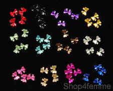 12 Colours Nail Art Mini Bows - Nail Art Decoration