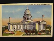 WI - NO. 15 WISCONSIN STATE CAPITOL - MADISON 1930-1944