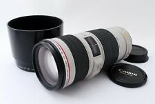 [Mint] Canon EF 70-200mm f/4 L IS USM Telephoto Lens w/ Hood