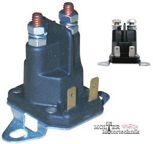 Solenoide Interruptor Batería Relé Ggp Briggs&stratton Tractor Cortacésped