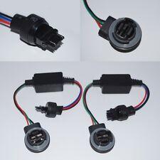 2x 3156 3157 LED Light Warning Error Canceller Bypass Wiring Load Resistor