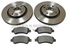 PEUGEOT PARTNER 1.6 + 2.0 HDI 02- FRONT BRAKE DISCS & MINTEX PADS SET NEW