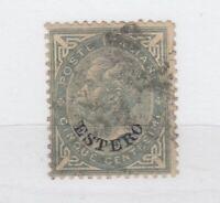 Italy Estero 1874 5c SG3 VFU JK2294
