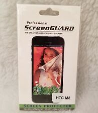 Professional ScreenGUARD NEW Anti Glare Screen Protector for HTC One M8