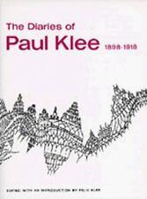The Diaries of Paul Klee, 1898-1918: By Klee, Paul