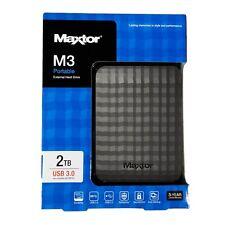 """HARD DISK ESTERNO PORTATILE 2,5"""" MAXTOR SEAGATE 2TB STSHX-M201TCBM 3.0/2.0"""