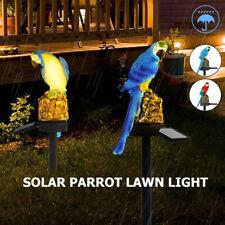 New listing Waterproof Led Solar Power Garden Light Path Lawn Parrot Animal Ornament Lamp Us