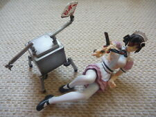 "Ghost in the shell Robot Maid & Jameson Figure Length 4"" 10cm"