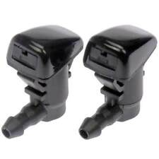 2pcs Car Windshield Wiper Water Spray Nozzle Jet Washer For Ford Focus 2008-2011