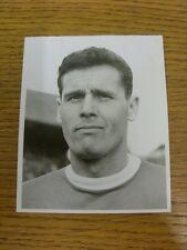 01/09/1962 Original Photograph: Nottingham Forest - McKinlay, Robert (Bobby) ['U