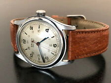 Vintage Gruen Veri-Thin Pan American aviator mechanical watch
