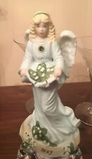 Perfect Enesco May Birthstone Angel Girl Figurine