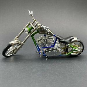 Muscle Machines Jesse James West Coast Choppers El Diablo Rigid Motorcycle 1:18