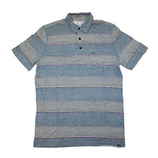 Hurley Fairway 2.0 Polo T-Shirt Purple Chalk Blue SMALL SALE