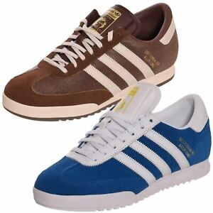 Adidas Men Trainers Beckenbauer Originals Running Trainer Gym Shoes UK Size 7-12