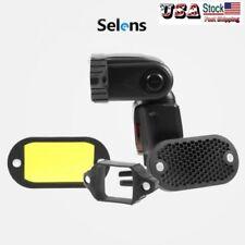 Selens Magnetic Flash Honeycomb Grid Color Filter Fr Nikon Canon Sony Speedlight