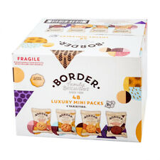 Border Luxury Biscuits 48 Mini Packs - 2 Biscuits Per Pack - GREAT VALUE!