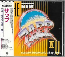 ZAPP IV U 1990 Warner Japan CD First Edition WPCP-3668 OOP Roger Troutman
