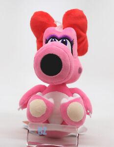 "GENUINE Super Mario Bros Birdo Stuffed Plush 7"" Little Buddy 1266"