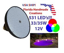 Swimming Pool SMD LED 35 33 Watt 12V Volts Color Changing Replacement Bulb Light