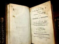 1791 THE WEALTH OF NATIONS by Adam Smith