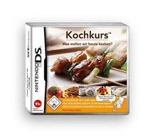 KOCHKURS:Was wollen wir heute kochen (Nintendo DS, 2008) NEU & OVP