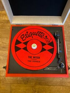 The Sonics Etiquette DJ turntable slip mat vinyl records garage punk 60's