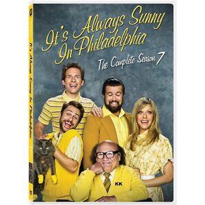 It's Always Sunny In Philadelphia Season 7 Series Seven Region 1 New DVD 2 Discs