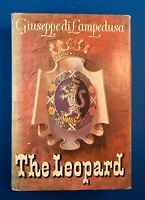 THE LEOPARD, Giuseppe di Lampedusa, Italian Historical Novel, HC DJ, 1960