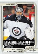 18/19 O-PEE-CHEE OPC LEAGUE LEADERS #594 CONNOR HELLEBUYCK JETS *55321