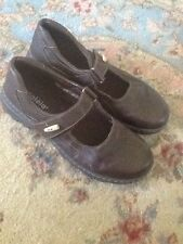 Azaleia Women's Teen Casual Shoes  Size 7.5 , 7 1/2 Brown Leather Babydoll Style