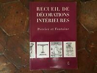 Percier E Fontana Compendio Di Decorazioni Interni L Avventurina 1997