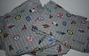 Pottery Barn Teen Major League Baseball Team Logos  Lot of 4 Full Set