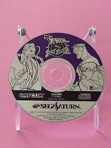 X-MEN VS Street Fighter Disc Only SEGA Saturn SS Japan Import US Seller