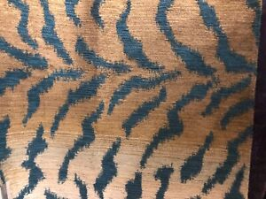 "Brunschwig & Fils fabric 43"" x 52"" Leopard"