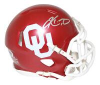Kyler Murray Autographed/Signed Oklahoma Sooners Speed Mini Helmet BAS 24987