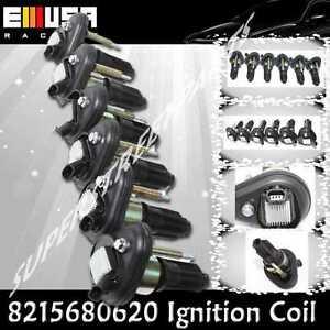 6PCS Ignition Coils for Isuzu 03-08 Ascender 4.2L  06 I-280 2.8L 8125680620