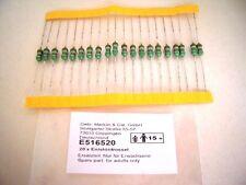 Märklin E 516520 Entstördrossel 20 Stück 3,9µH 1,1A Orginal Ersatzteil NEU