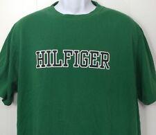 Vintage Tommy Hilfiger T Shirt L Large Spell Out Graphic Big Logo 80s 90s Vtg