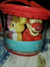 Disney Winnie The Pooh Baby Bath Squirters, Set of 5 New,  Sz 4'' Tall new
