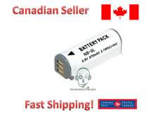 Replacement Canon NB-9L battery for CB-2LBE IXUS 500 510 IXUS 1100 300 1000