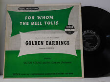 Victor Young LP For Whom the Bell Tolls bw Golden Earrings on Decca soundtrack