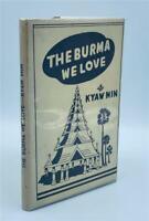 1945 THE BURMA WE LOVE U KYAW MIN CALCUTTA FIFTH COLUMN BRITISH