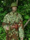 Reproduction Soviet WW2 coverall leaf pattern camo with brown ameba overprint